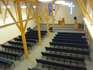 Chapel of St Barnabas inside