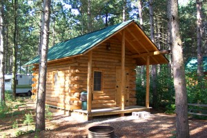 Campground Log Cabin