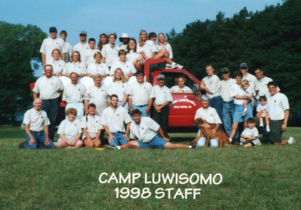 Luwisomo staff photo 1998