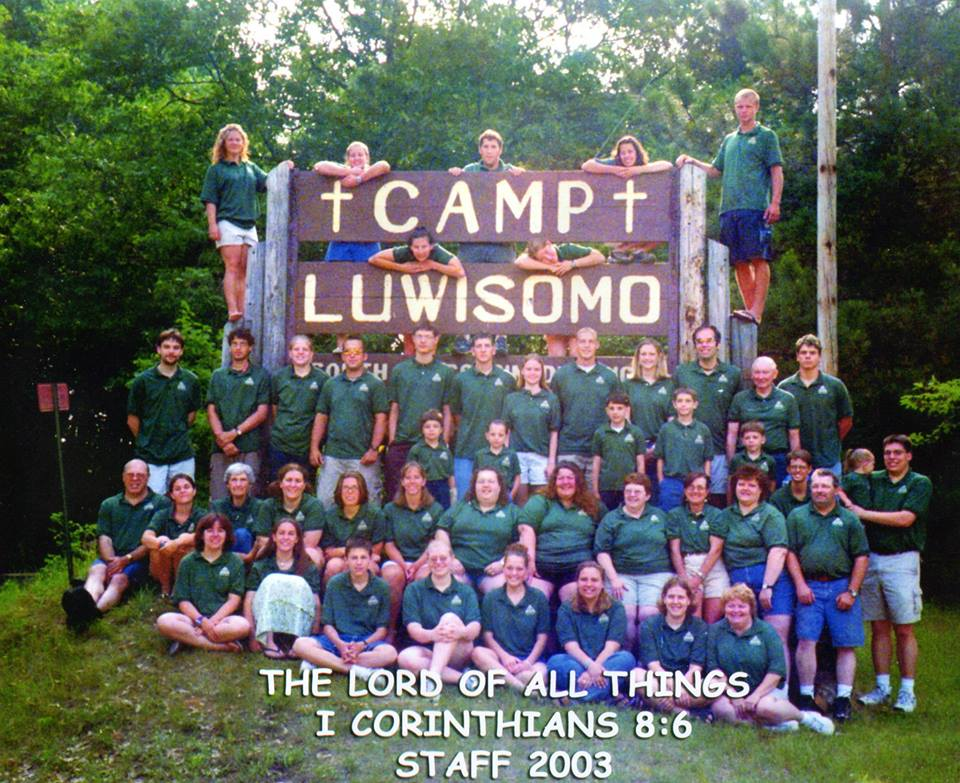 Luwisomo staff photo 2003