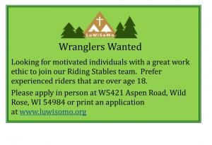 Help Wanted Wranglers