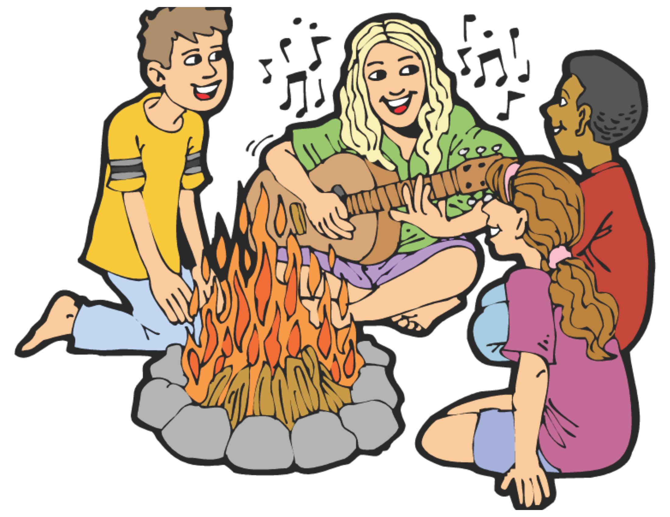 Free Vector Campfire Clipart 52 First Of Fall Campground Festival 2016